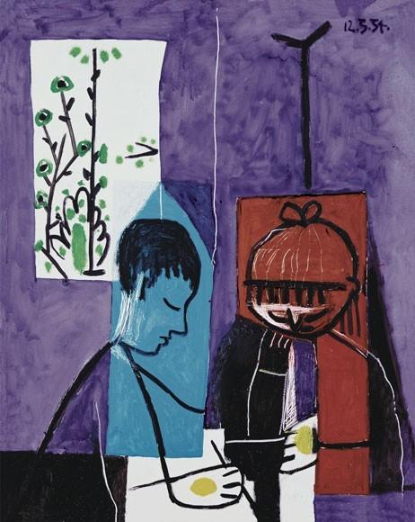 Pablo Picasso | Zeichnende Kinder, 1954