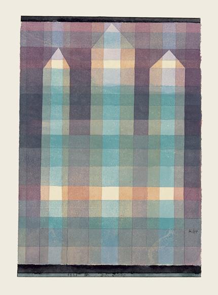 Paul Klee | Drei Türme, 1923, 101