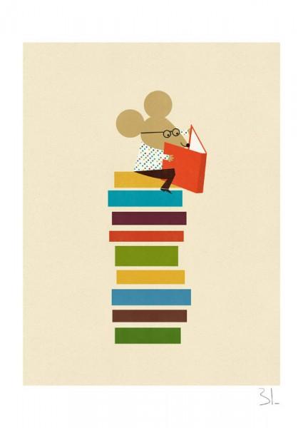 Blanca Gómez I The library mouse