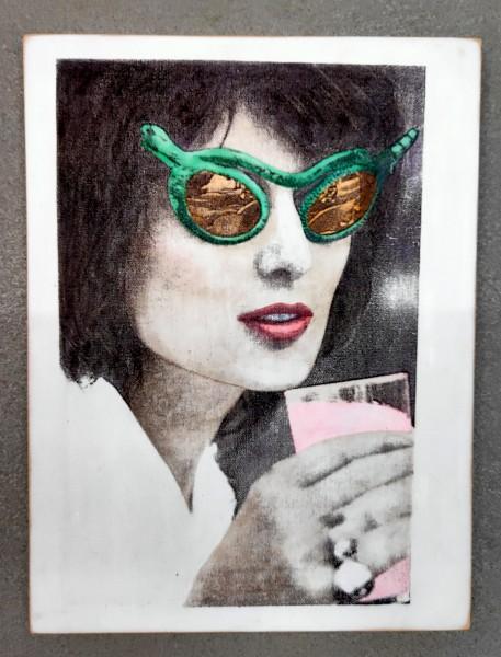 Kati Elm: Frau mit Sonnenbrille, Limited Edition, 2016