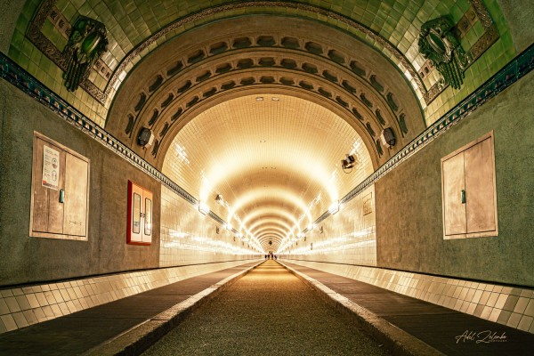 Hamburg Alter Elbtunnel | Photoart