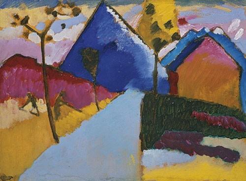 Wassily Kandinsky | Kochel - Gerade Strasse, Herbst 1909