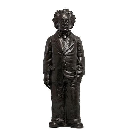 Ottmar Hörl: Albert Einstein, 2018 (bronze)