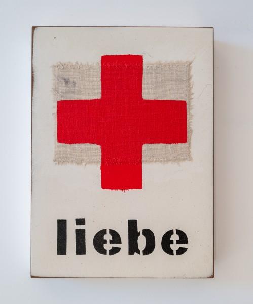 Jan M. Petersen:liebe (rotes Kreuz), Auflage – 2020