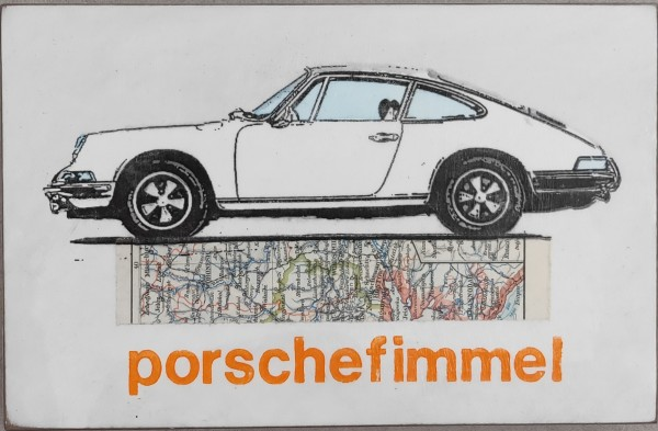 Jan M. Petersen: porschefimmel (weiß)