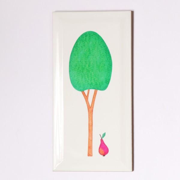 Ask a Duck | Metrofliese - Baum grün
