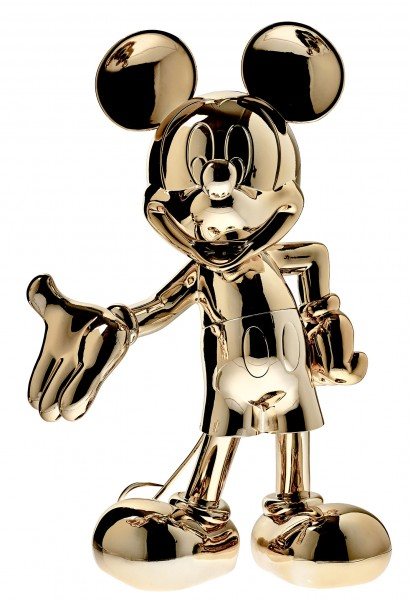 Mickey Welcome: Gold Metallic