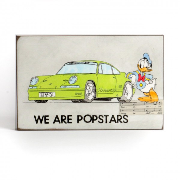 Jan M. Petersen - We are Popstars Porsche grün mit Donald