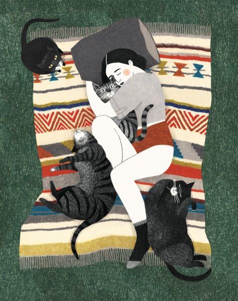 Lieke van der Vorst : Kattenvrouw