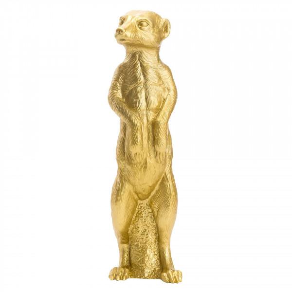 Ottmar Hörl | Erdmännchen (gold)