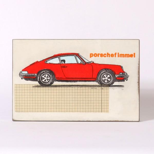Jan M. Petersen | Porschefimmel (Porsche Rot, Typo Orange)