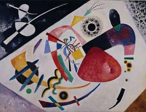 Wassily Kandinsky | Roter Fleck II, 1912