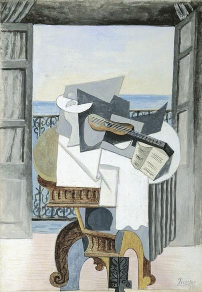 Pablo Picasso | Tisch vor offenem Fenster, St-Raphael, 1939