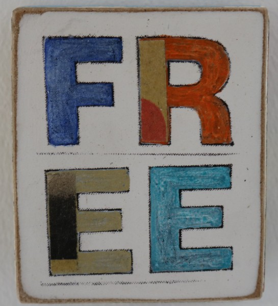 Kati Elm | Free (Schriftzug) (Mini)
