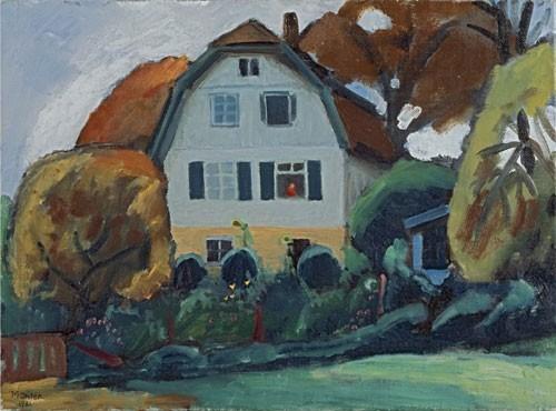 Gabriele Münter | Das Russenhaus, 1931