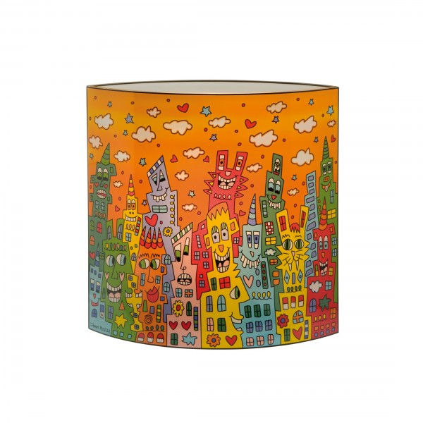 James Rizzi: City Sunset - Lampe