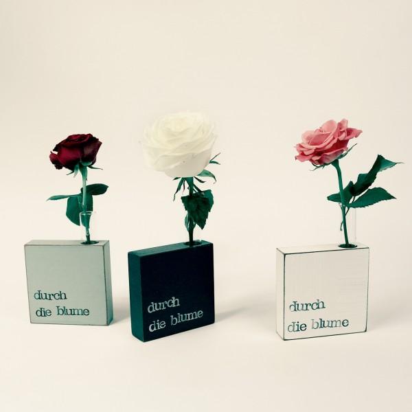 Indra Ohlemutz   Durch die Blume   Vase-Textplatte
