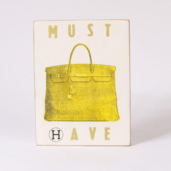 Kati Elm | Must Have (Hermes Tasche gelb)