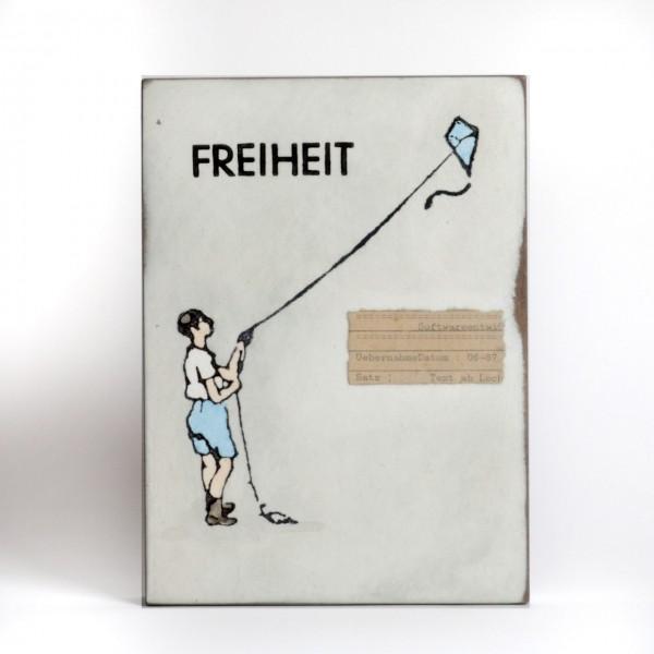 Jan M. Petersen - Freiheit - Junge mit Drachen