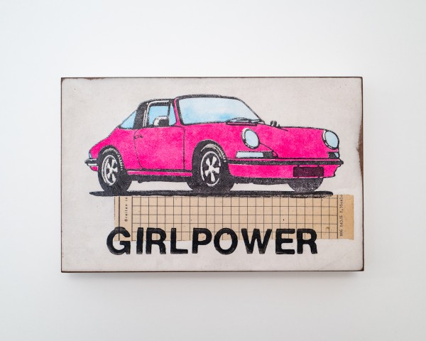 Jan M. Petersen: GIRLPOWER, Porsche pink, Auflage 3/12