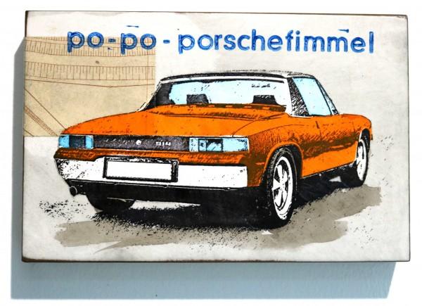 Jan M. Petersen | po-po-porschefimmel (orange)