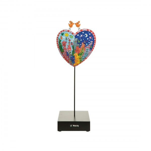 James Rizzi: It's Heart Not to Love My City - Figur