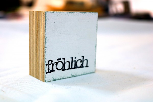 Indra Ohlemutz: fröhlich, weiß (mini)