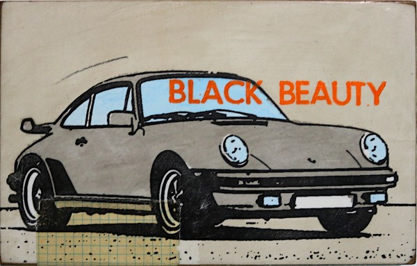 Jan M. Petersen: Black Beauty, 2018, signiert