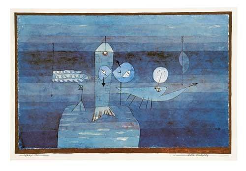 Paul Klee | Guter Fischplatz, 1922, 138