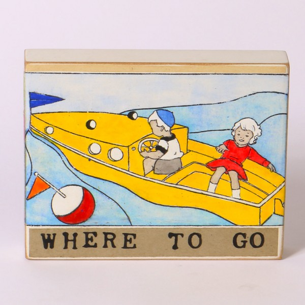 Kati Elm | Where to go (Gelbes Boot)
