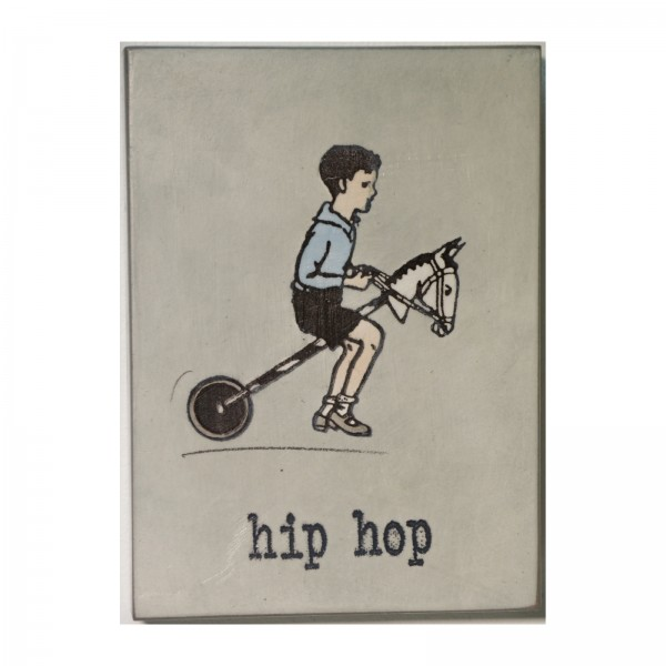 Jan M. Petersen: hip hop, signiert