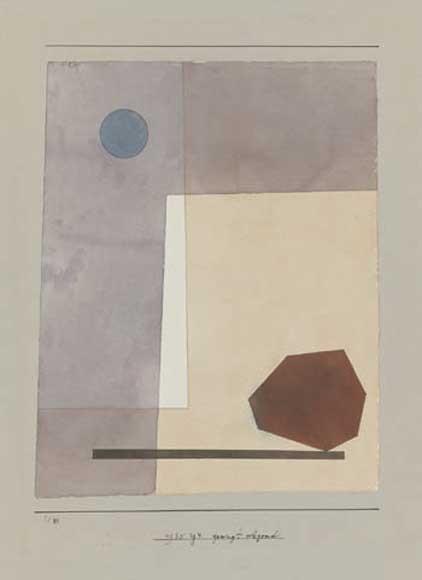 Paul Klee | gewagt wägend,1930, 144