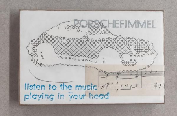 Jan M. Petersen: PORSCHEFIMMEL, listen to the music playing in your head