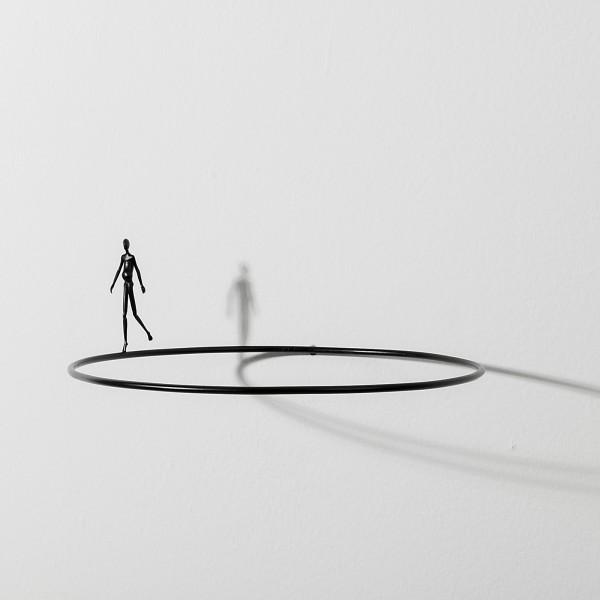 Max Hoffmann: Figur auf Reif