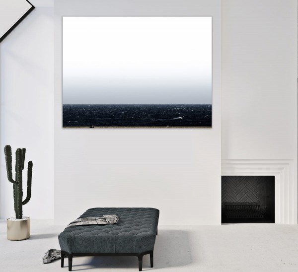 Martin Wolf Wagner   Mar Negro #01- Fotokunst