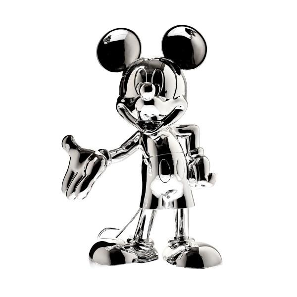 Mickey Welcome: Silber Metallic