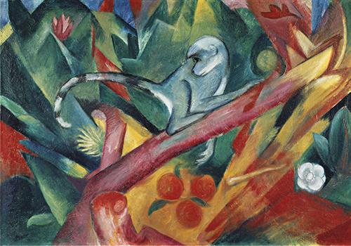 Franz Marc | Das Äffchen, 1912