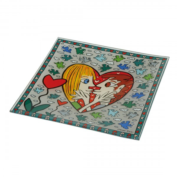 James Rizzi: I Square I Love You - Schale