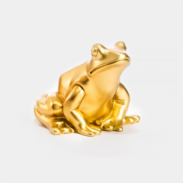 Ottmar Hörl | Froschkönig gold