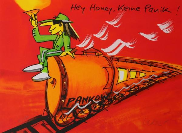 Udo Lindenberg   Hey Honey, keinePanik, Pankow-Zug (orange)