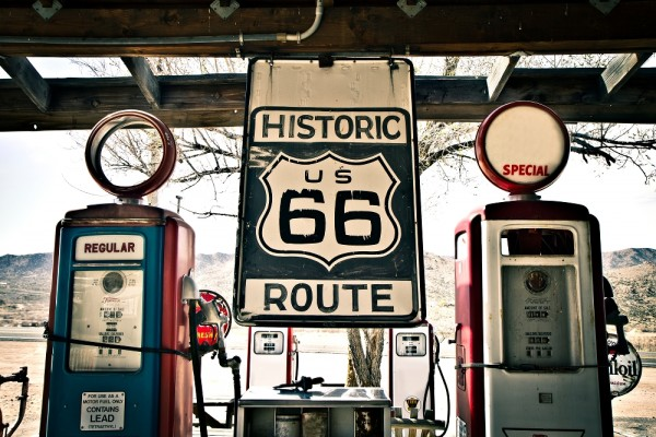 Route 66 | Digitaldruck auf Acrylglas