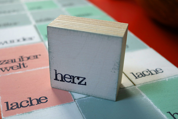 Indra Ohlemutz: herz (mini) | weiß | rosa | grau | türkis