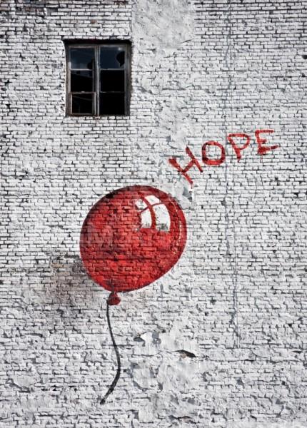 "Kunstdruck ""Hope"" (Edition Street Art: ""Banksy and beyond"")"