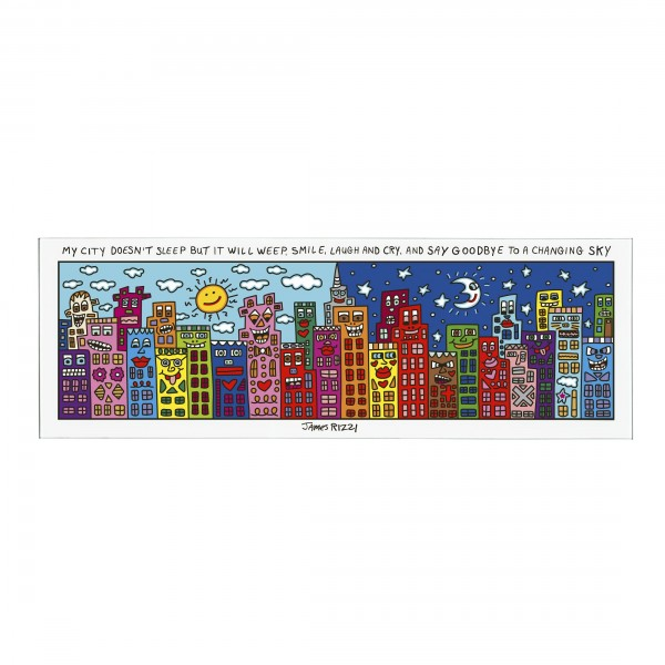 James Rizzi: My City Does Not Sleep - Magnettafel