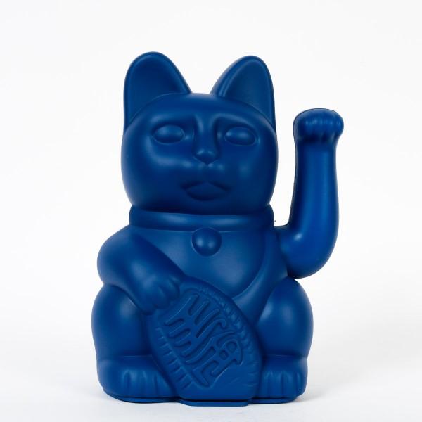 Lucky Cat Winkekatze - Dunkelblau