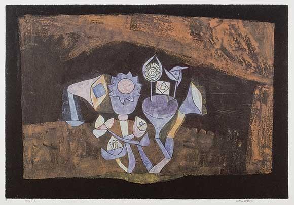 Paul Klee | Höhlenblüten, 1926, 241 (Y1)