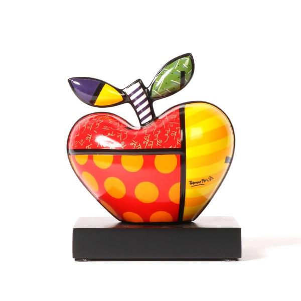 Goebel Big Apple| Romero Britto Pop Art Porzellan Skulptur - klein