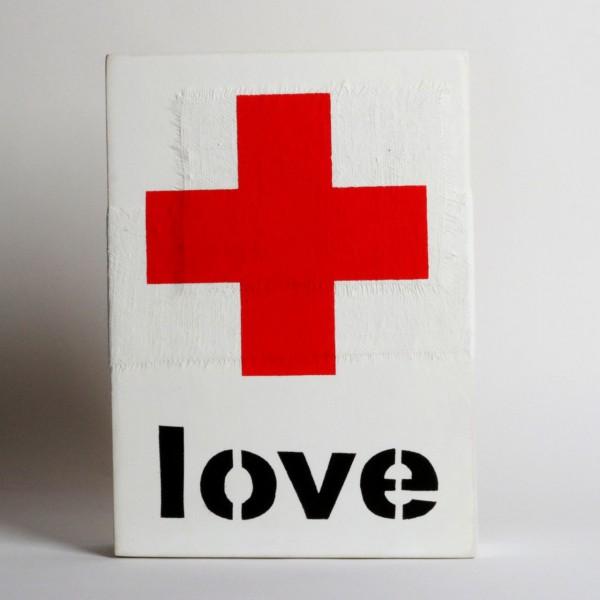 "Jan M. Petersen - ""Love"" rotes Kreuz"