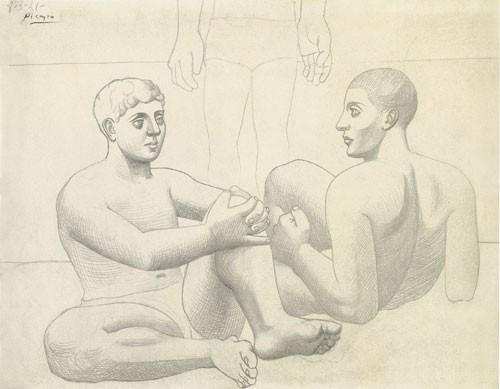 Pablo Picasso | Zwei Badende, 1921