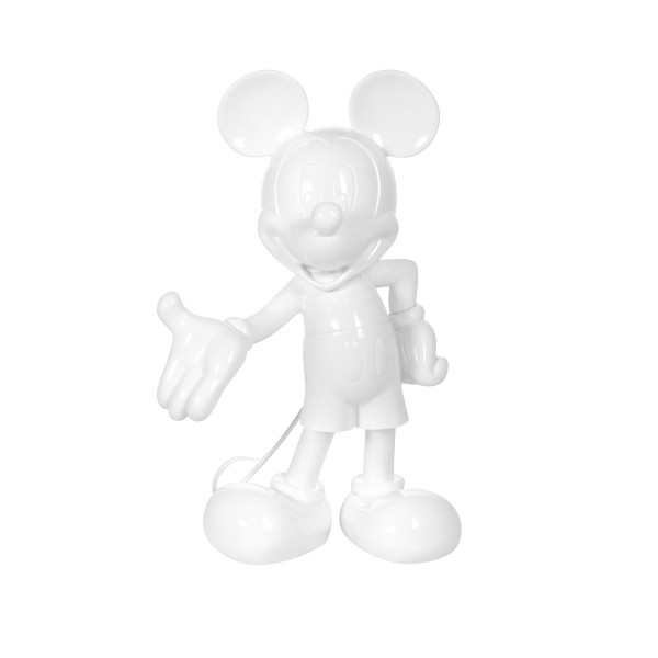 Mickey Welcome: Glossy White (Weiß)